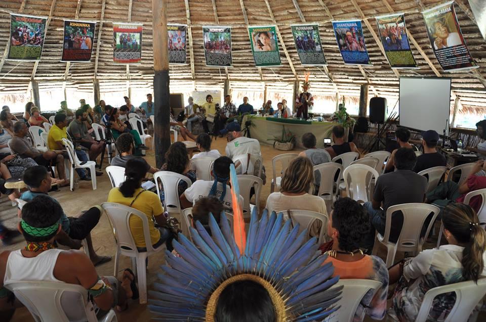 Conferência Indígena da Ayahuasca 2017